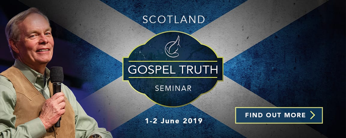 Andrew Wommack Gospel Truth Seminar Scotland