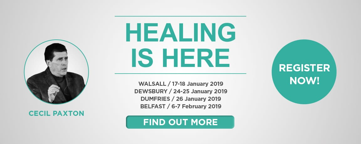 Healing is Here - Cecil Paxton - 2019